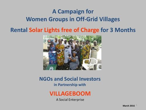 Free Download - Women Group Campaign